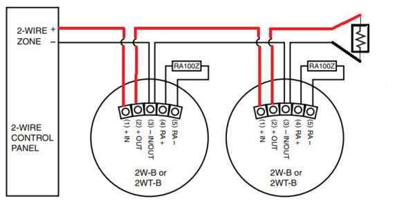 How Do I Wire a 2W-B? - Alarm GridAlarm Grid