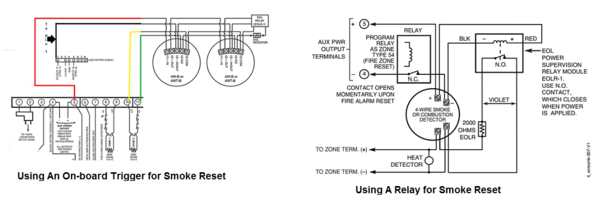After The Connections Have Been Make 4wire Smoke Must Be Programmed With Hardwired Zone On Alarm System This Process Will Vary Depending: 4 Wire Smoke Detector Wiring Diagram At Satuska.co