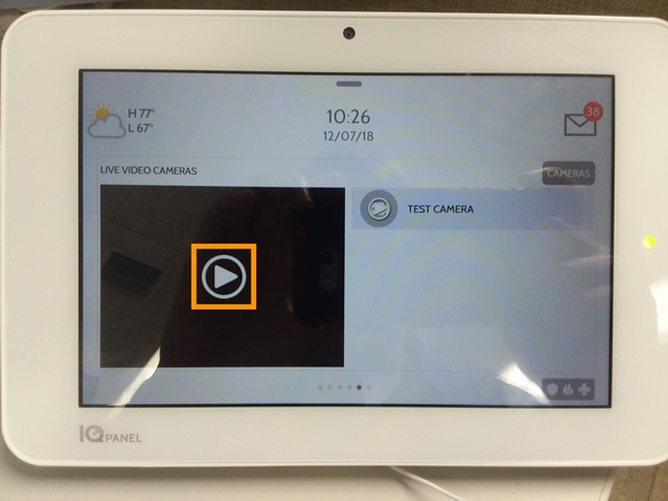 How Do I Stream an Alarm com Camera to My Qolsys IQ Panel 2? - Alarm