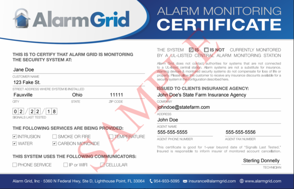 Alarm System Insurance Discount - The O Guide