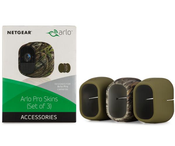 Arlo VMA4200 - Arlo Pro and Pro 2 Camera Skins, 3-Pack 2 Green 1 Camo