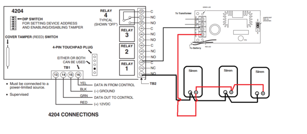 How Do I Add A Siren To A Honeywell Vista System Using A