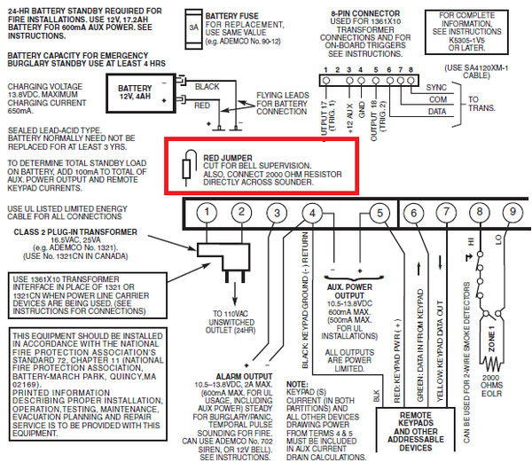 Where is the VISTA-20P Bell Supervision? - Alarm Grid on fire smoke damper diagram, smoke alarms in series wiring diagram, smoke detector placement diagram, smoke alarms in a series diagram, smoke loop wiring diagram, smoke detector system diagram, smoke detector installation diagram, fire alarm wiring diagram, 4 wire smoke alarm,