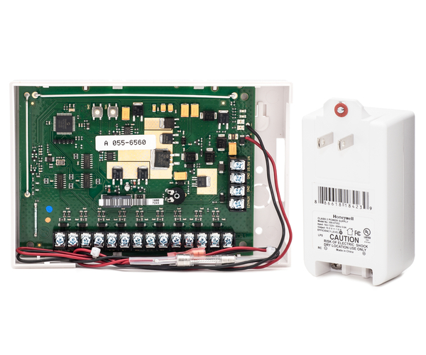 Honeywell 5800c2w hardwire to wireless system 9 zone for Door zone module