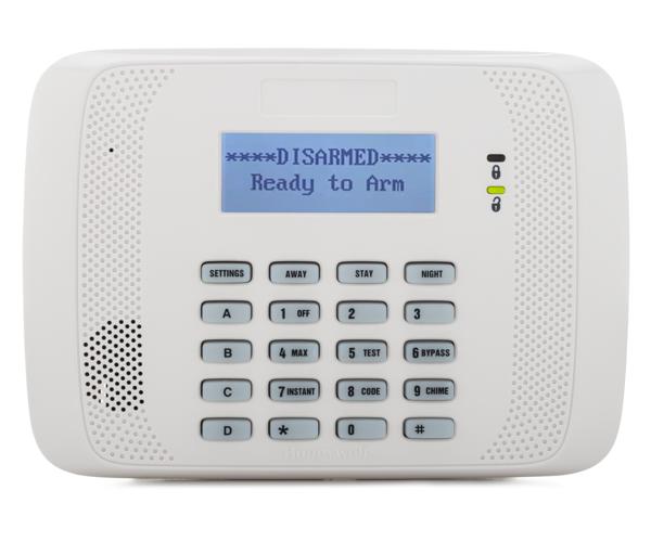 Honeywell 6152rf Alarm Grid