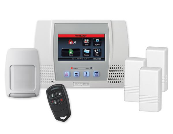 Honeywell L5000pk L5000 Lynx Touch Wireless Security