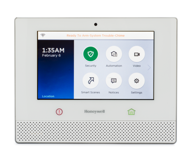 Honeywell Lyric Alarm System Encrypted Homekit
