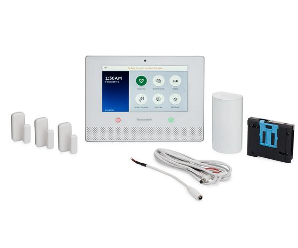 Honeywell Lyric AT&T-LTE 3-1 Kit - Alarm System, 3 Door/Window Sensors,  Motion & 8' Cable