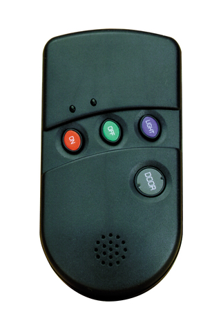Honeywell 5804bd wireless bi directional security key fob