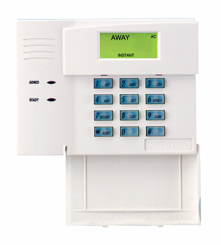 Honeywell 6148 fixed english alarm keypad