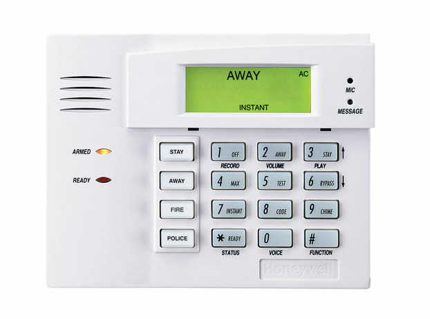 Honeywell 6150v talking fixed english alarm keypad