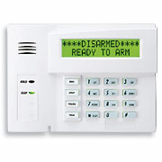 Honeywell 6160rf alphanumeric alarm keypad with integrated transceiver