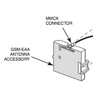 Honeywell gsm eaa alarmnet external antenna accessory