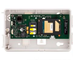 Honeywell gsmx4g close up of alarmnet cellular alarm monitoring