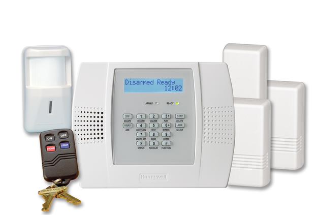 Honeywell l3000pk lynx plus wireless security system