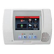 Honeywell l5000 lynx touch wireless alarm control panel high resolution close up
