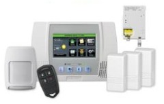 Honeywell l5100pk wifi 4g 5898 l5100 lynx touch wireless security system
