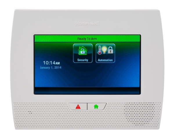 Honeywell l7000 wireless home security system with 7 inch screen