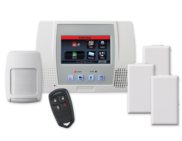 Honeywell lynxtchkt118 lynx touch wireless home security system hd