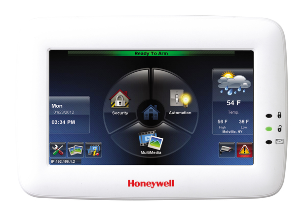 Honeywell Tuxedo Touch - Talking Color Graphic Touchscreen Alarm Keypad