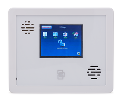 Interlogix simon xti front view of wireless security system