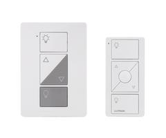 Lutron caseta p pkg1p wh lamp dimmer remote kit