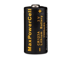 Maxpowercell cr123a 3v lithium battery