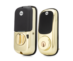 Yale yrd226 bronze front assure lock z wave touchscreen deadbolt