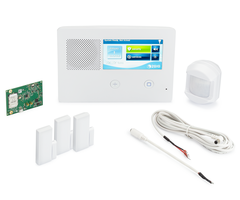 2GIG GC2e Verizon LTE 3-1 Kt - Wireless Encrypted Alarm System, 3 Door/Window Sensors, Motion, 1 8-ft Cable