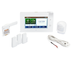 2GIG GC3e AT&T-LTE 3-1 Kit - Wireless Encrypted Alarm System, 3 Door/Window Sensors, Motion, 1 8-ft Cable