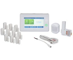 2GIG GC3PK10-3G-A - 3G AT&T Wireless Security System w/ 10 door/window sensors, motion sensor, 1 8-ft Cable