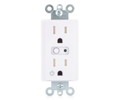 2GIG WO15EMZ5-1 - Z-Wave Plus In-wall AC Outlet