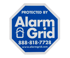 Alarm Grid Inside Security Stickers