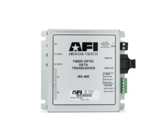 American Fibertek - MX480 Multi Protocol Data Transceiver to Fiber Module