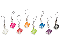 DSC MPT - PowerG 915MHz Mini Wireless Proximity Tags, 8 Pack