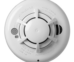 DSC PG9936 - PowerG 915MHz Wireless Smoke And Heat Detector