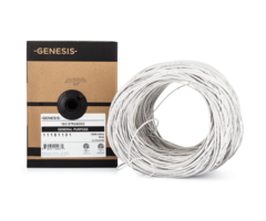 Genesis WG-11181101 boxed - 18 gauge 2 conductor (18/2) unshielded stranded cabling, 1000 foot box