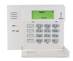 Honeywell 5828V - Wireless Talking Fixed English Alarm Keypad