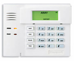 Honeywell 6150RF - Fixed English Alarm Keypad with Integrated Transceiver