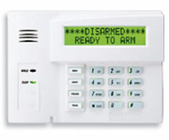 Honeywell 6160RF - Alphanumeric Alarm Keypad with Integrated Transceiver