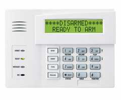 Honeywell 6160V - Talking Alphanumeric Alarm Keypad