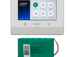 Honeywell Lyric Alarm System w/ 24-Hour Battery - Encrypted, HomeKit, Wireless Security System