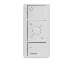 ​Lutron Caseta PJ2-3BRL-WH-L01R - 3-Button Wireless Pico Remote with Raise/Lower for Lighting Control​