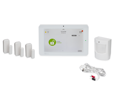 Qolsys IQ Panel 2 AT&T 3-1 Kit - Alarm System Kit w/ 3 door/window sensor & 1 motion