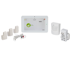 "Qolsys IQ Panel 2 Classic Kit AT&T - 7"" Wireless Security System w/ AT&T Cell Communicator, 4 Sensors"