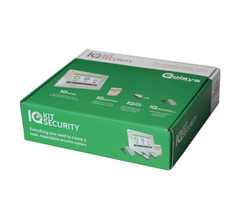 "Qolsys IQ Security Kit Telefonica - 7"" Security System w/ Telefonica Cell Communicator, 6 Sensors (QA9014-484-06-06)"