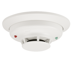 System Sensor 4WT-B - 4-Wire Smoke Detector with Fixed Heat Sensor