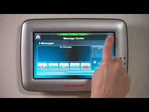 Honeywell 6280 Touchcenter Touchscreen Keypad Alarm Grid