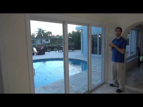 Honeywell 5811 Installation On A Sliding Patio Door