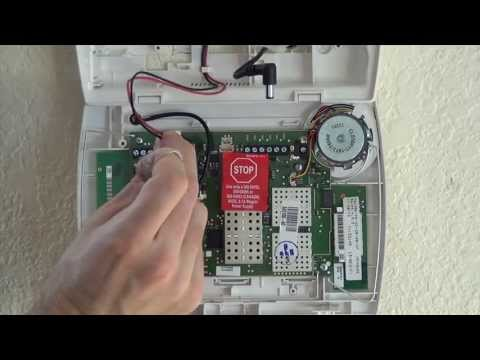 Honeywell L5100 Zwave Installation Video Alarm Grid
